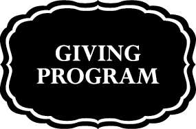Giving Program